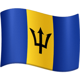Barbados Facebook Emoji